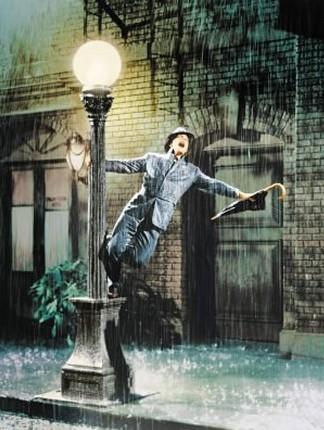 雨に唄えば。