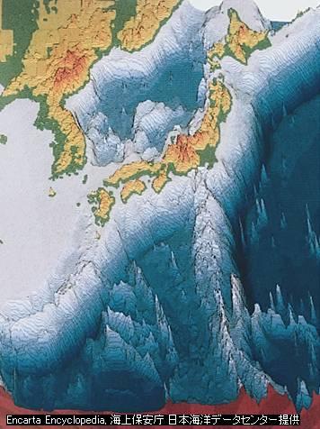 日本列島図