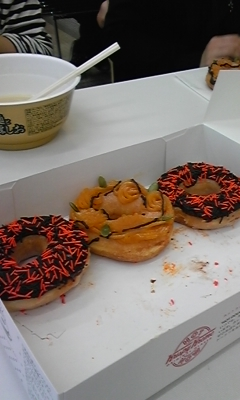 ハロウィン限定ドーナツ