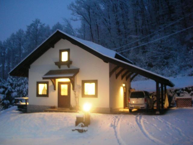 雪のドイツハウス