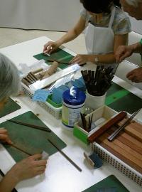 大阪唐木指し物 箸作り
