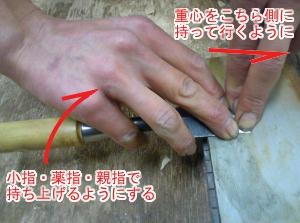 刃物研ぎ 裏刃