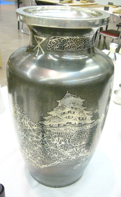 大阪城 浪華錫器