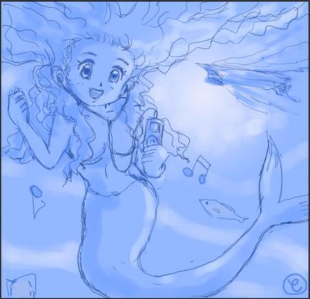 ノリノリ人魚