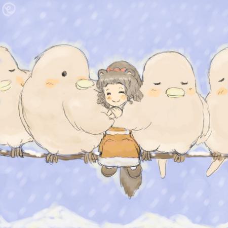 鳥さんとけもの娘