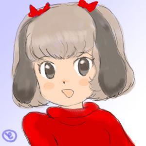 赤セーター・ワン娘
