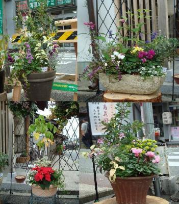 街角花飾り2