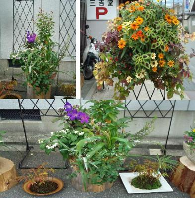 街角花飾り4