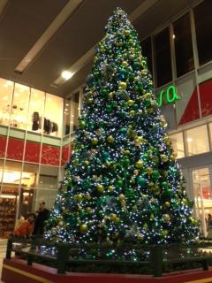 新静岡セノバのChristmas tree