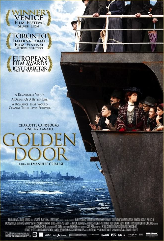 The Golden Door [Charlotte Gainsbourg 2006ItaFr][DVD]