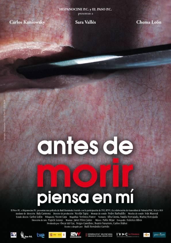 Antes de Morir Piensa en Mi [Sara Valles 2008Spa][DVD]