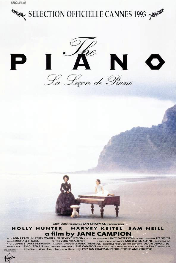 The Piano [Holly Hunter 1993AuNzFr][DVD]