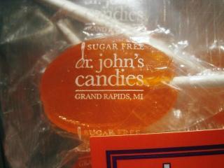 虫歯予防のキャンディー