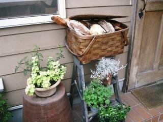 小さなパン屋さんだけど、美味しくて私のお気に入りのパン屋さん♪