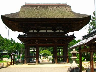 苗村神社・楼門