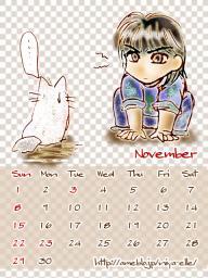 11月カレンダー480*640