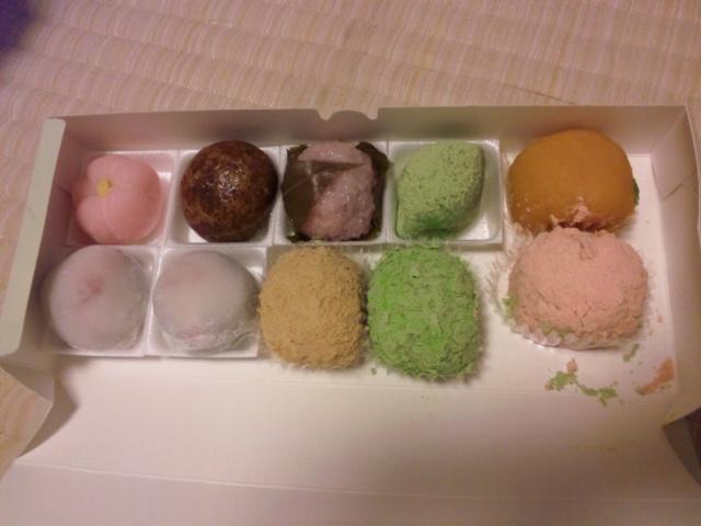 和菓子てんこ盛り