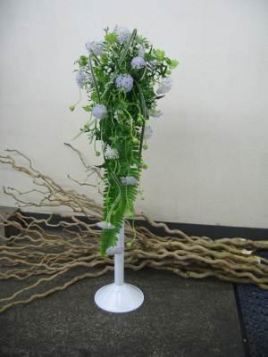 流れるような花嫁の花束6