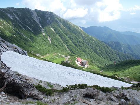 雪渓 080