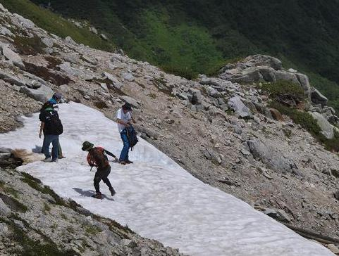 雪渓 168