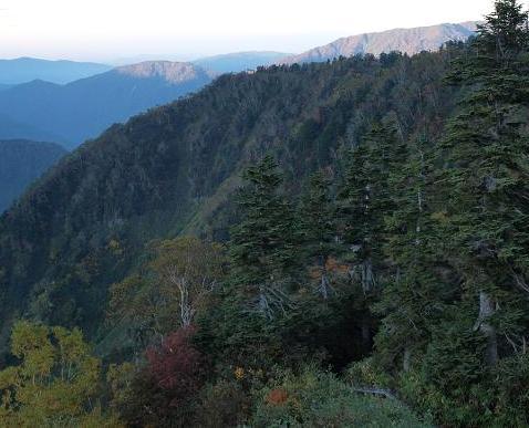 夜明の立山 041