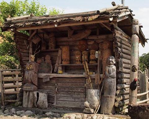 木彫人形 047