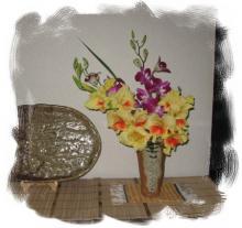0927-1 編み上げ花瓶