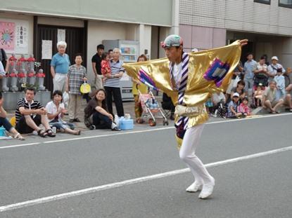 7/24 地元 みずき連の奴凧踊り