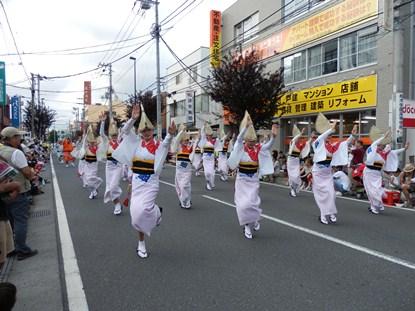 7/24 地元 新橋連 女踊り