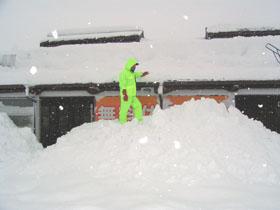 雪の案内所