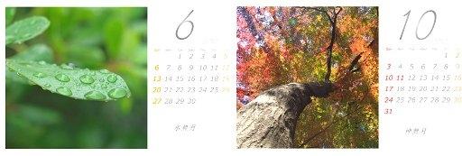 2010 カレンダー
