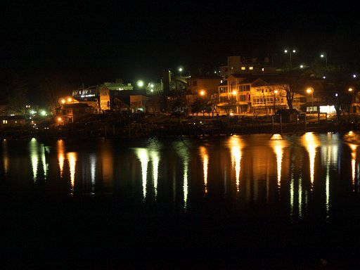 中禅寺湖の夜景
