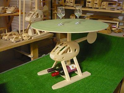 ヘリコプターテーブルは いかが?