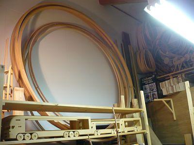 直径2mの 軸無し観覧車のベースの輪