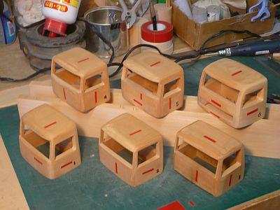 木目のこだわり 板材組み合わせ見本 作製