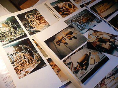 製作過程の写真