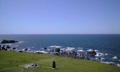 日本海一望!