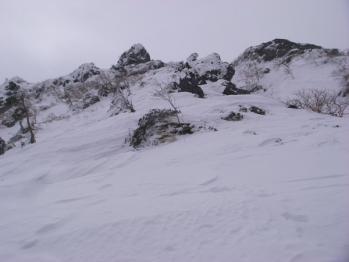 四ツ岳岩稜