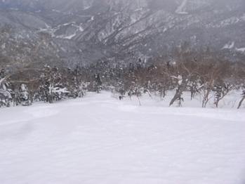 四ツ岳から平湯温泉
