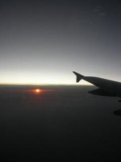 機内からの景色1
