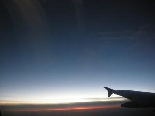 機内からの景色2