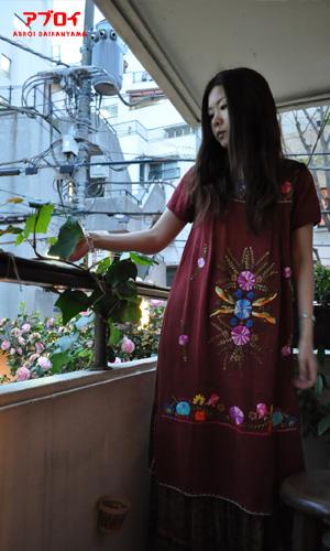 エスニック刺繍ドレス