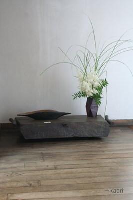 「陶と鎌倉彫と盆栽」 - ギャラリー三日月にて -