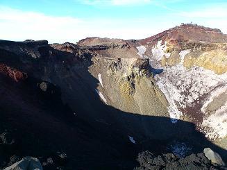 2011富士山お鉢