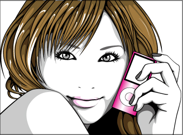 a-galleryイラスト 『iPod