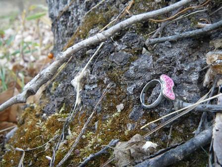 誰かが忘れたおもちゃの指輪