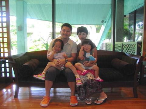 沖縄ホテルにて