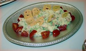 ハロウィンポテトサラダ