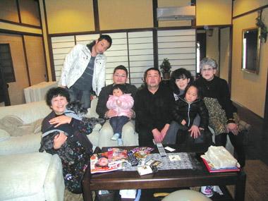 鎌倉でみんなで正月