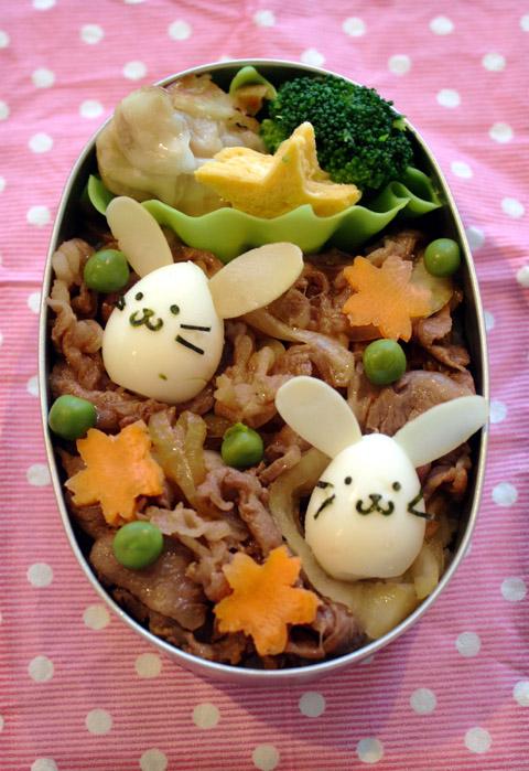 うさぎちゃん牛丼